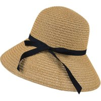 Fashion Summer Casual Women Ladies Wide Brim Beach Sun Hat Elegant Straw Floppy Bohemia Cap For Women Dating